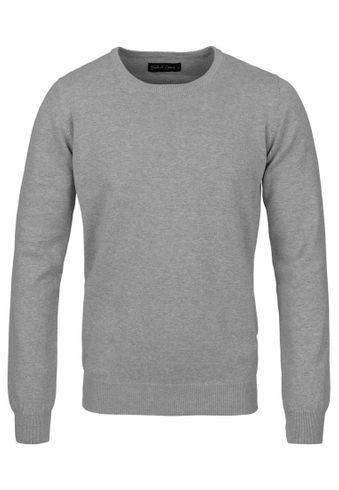 !Solid Boze Pullover O-Neck