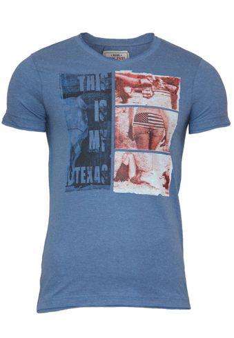 Sublevel T-Shirt mit US Motiv