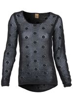 Oxmo Pullover Dot-Ls