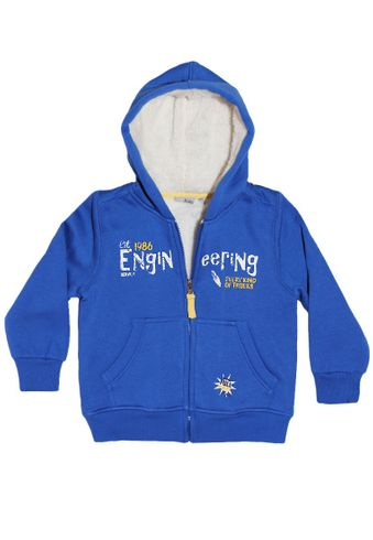 Blue Seven Sweat Jacke mit Kapuze