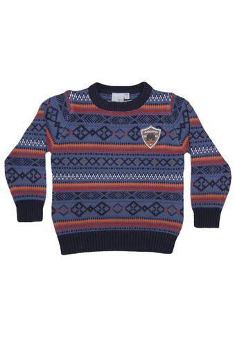 Blue Seven Pullover O-Neck