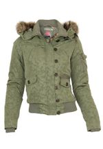Stitch & Soul Übergangs / Winter Jacke