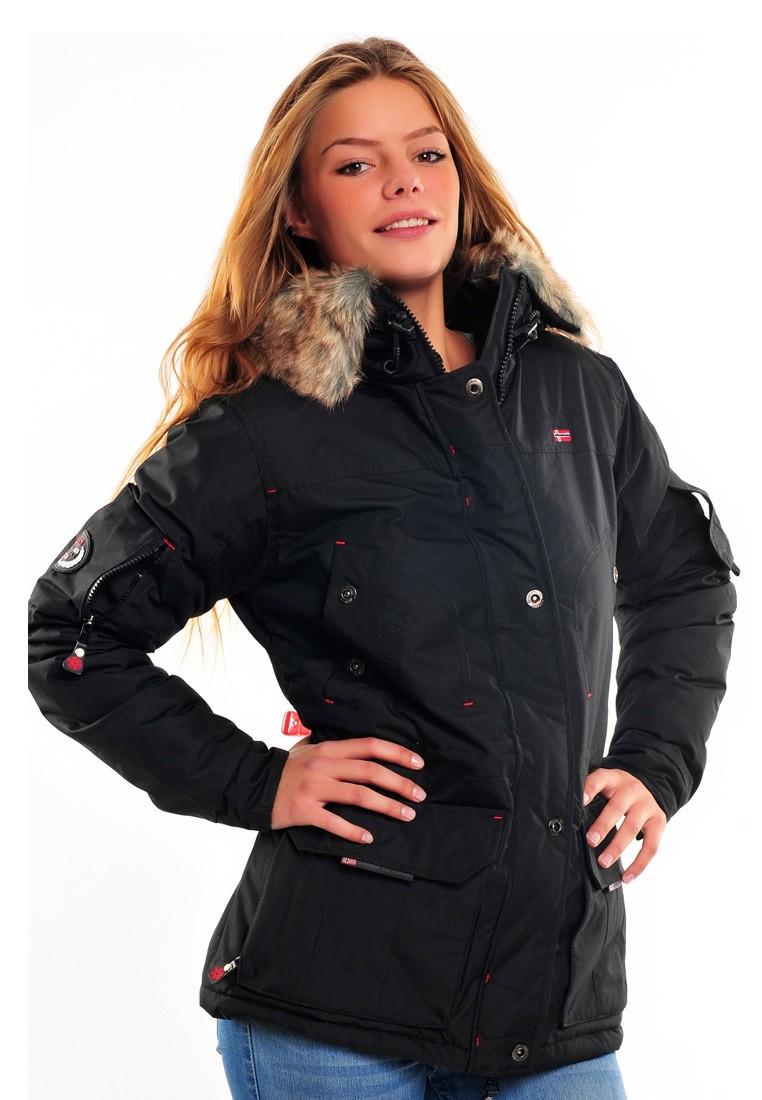 geographical norway damen winter jacke alaska lady kapuze fell jacket outdoor ebay. Black Bedroom Furniture Sets. Home Design Ideas
