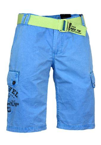 Sublevel Shorts Bermuda Hose mit Gürtel
