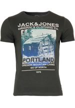 Jack & Jones T-Shirt Jjorking Tee Slim Fit