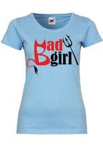 M33 F288N Damen T-Shirt mit Motiv Bad Girl