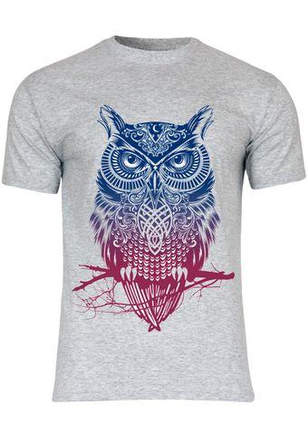 M40 F140 Herren T-Shirt mit Motiv Magic Owl