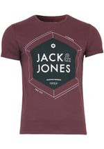 Jack & Jones T-Shirt Jjcowood Tee Slim Fit