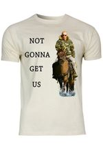 M113 F140 Herren T-Shirt mit Motiv Not Gonna Get Us Putin
