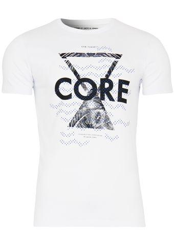 Jack & Jones T-Shirt Jjcoandrew Tee Crew Neck