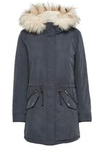 Only Damen Jacke Onllucca Long Parka