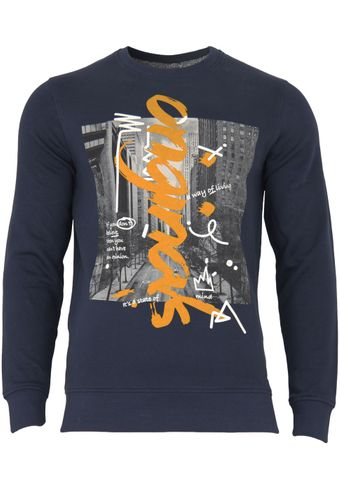 Jack & Jones Herren Sweatshirt Jorcutting Sweat Crew Neck Reg