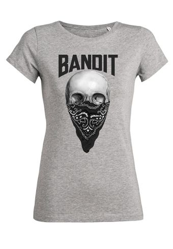 rs56 Damen T-Shirt Wants Bandit Skull