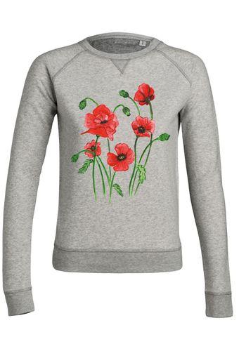 ul17 Damen Sweatshirt Trips Poppy