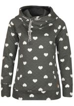 Only Damen Sweatshirt Onlann Jalene Hood Sweat