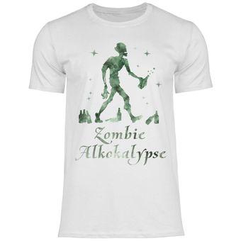 a28 Herren T-Shirt Zombie Alkokalypse