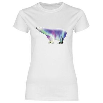 rs123 Damen T-Shirt Polarbär