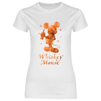 a60 Damen T-Shirt Whiskey Mouse