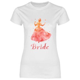 rs133 Damen T-Shirt Orangene Prinzessin Bride
