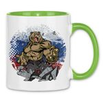 rs27 Tasse Russian Bear