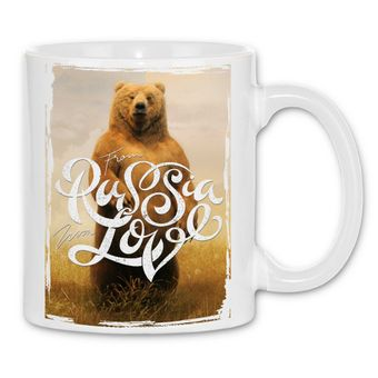 rs49 Tasse Medved' from Russia with love